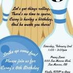 Bowling Birthday Party Printable In..